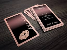 mary kay business cards templates free template design