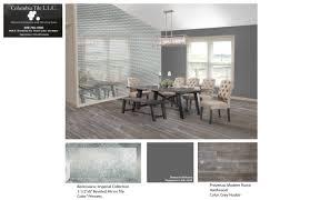 tile in dining room columbia tile general contractor flooring sales