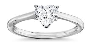 heart shaped engagement ring heart engagement rings info on diamonds quality value