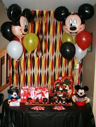 mickey mouse birthday party include mickey mouse birthday balloon bouquets into party space