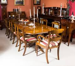 Regency Dining Table And Chairs A Beautiful Contemporary Regency Style Dining Set Which Comprises