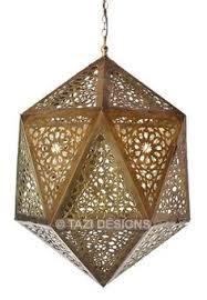 Moroccan Pendant Light Contemporary Moroccan Pendant Light Linna Lighting Pinterest