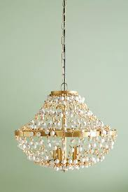 Chandelier Removal Abalorio Chandelier Anthropologie