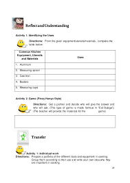 home economics worksheets free worksheets library download and