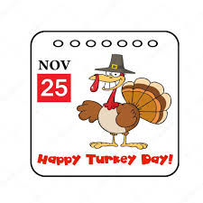 thanksgiving event calendar stock photo