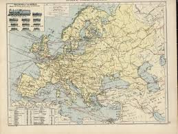 Map Of Europe 1920 by Hipkiss U0027 Scans Of Old Maps From The London Geographical Book