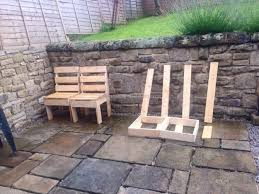 Diy Wood Garden Chair by Diy Pallet Wooden Outdoor Furniture Pallet Furniture Projects