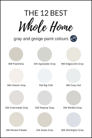 best greige cabinet colors the 12 best whole home gray and greige paint colours