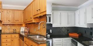 repeindre une cuisine en chene vernis repeindre meuble cuisine en chene vernis page 0 klasztor co