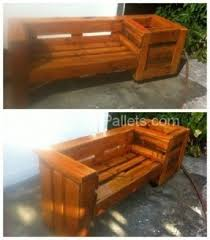Garden Bench With Planters Planter Benches Hollywood Thing