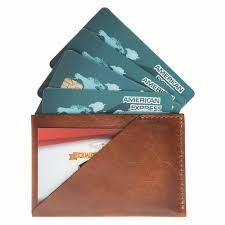 slim business cards slim business card sleeve in burnished leather