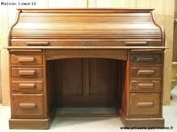 bureau americain cylindre bureaux et secrétaires artisans du patrimoine