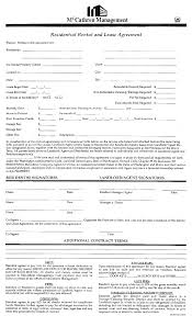 impressive residential lease agreement template example with