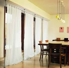 Hanging Room Divider How To Use Curtains As Room Dividers Pickndecor