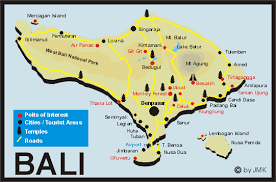 bali indonesia map bali indonesia travel service and hotel reservation
