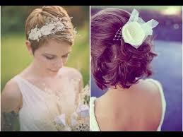 coiffure cheveux courts mariage 50 idées coiffure mariage sur cheveux courts