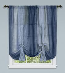 Tie Up Valance Curtains Ombre Tie Up Shade Discounted Valance Curtains Scarf
