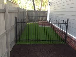 Backyard Landscaping Ideas For Dogs by Side Yard Solution Pet Friendly X Grass Artificial Turf Dog Run