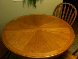 Refinished Kitchen Table Refinish Table Chairs Pleasant Home Design