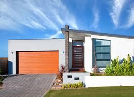 single level home designs contemporary home designs narrow sloping block designs open plan