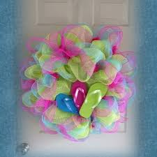 flip flop wreath summer flip flop wreath pictures photos and images for