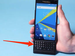 android phone with keyboard new blackberry priv phone with android business insider