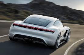 tesla roadster concept porsche mission e concept is a 4 door electric tesla killer car