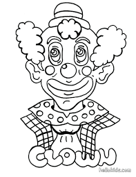 clown pictures coloring pages funny to color copy circus print