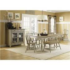 Liberty Furniture Dining Room Sets Six Piece Dining Table Set With Chairs And Bench By Liberty