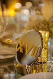 modern table numbers wedding ideas mirror décor elements from modern weddings inside