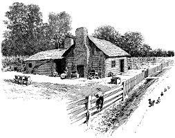 cabin clip art images illustrations photos