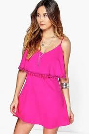 boohoo clothes buy boohoo summer dresses for women online fashiola co uk