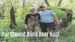 Bow Ground Blind Deer Hunt With A Bow Ground Blind Edition Youtube