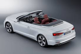 convertible audi white 2017 audi s5 and a5 cabriolet chop their tops at la by car magazine