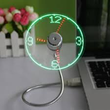 online get cheap led fan clock aliexpress com alibaba group