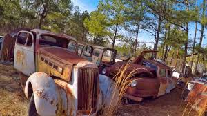 junkyard car youtube awesome antique car junkyard heaven youtube