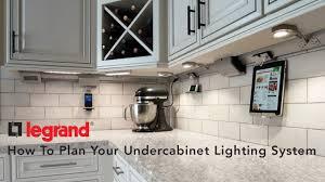 under cabinet lighting systems legrand adorne undercabinet lighting lumens com youtube