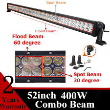 Brightest Led Light Bar by 52 Inch 400w 100 Car Led Light Bar Super Bright Led Working Light