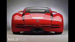 lexus sports car lexus minority report sports car