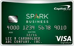 spark business card login spark for business capital one
