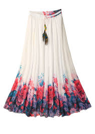 flowy maxi skirts ashir aley beautiful flowy summber chiffon maxi skirt xl