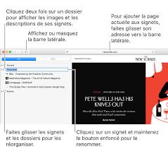 mettre les favoris sur le bureau ajouter des signets à vos pages web favorites dans safari sur mac
