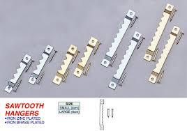 frame hanger sawtooth hangers 05 u can do hardware corporation