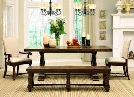 Furniture Good Looking Dining Room Bench Home Design Interior
