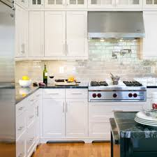 kitchen backsplash ideas with white cabinets houzz 75 beautiful kitchen with white cabinets and metallic