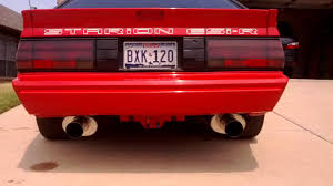 chrysler conquest custom 87 starion with 6g72 tt seeing the light of day for first time in