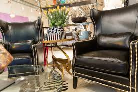 kingston leather chair bernhardt interiors luxe home philadelphia