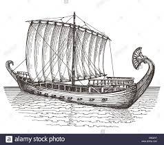 ship vector logo design template boat or transport icon stock