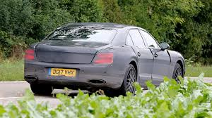 bentley flying spur interior bentley flying spur spied testing under camo on the road