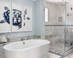 art for bathroom ideas unique beach inspired framed art with oval ceramic tub for